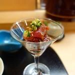 築地寿司清 - [2回目]宮崎産鰹のお造り