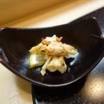 築地寿司清 - [2回目]お造りのぼたん海老の頭