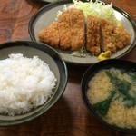 多喜亭 - ロースカツ定食