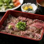 【1日10食限定】熟成和牛のステーキ重