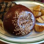 ブルックリンパンケーキハウス - プレミアムブルックリンバーガー