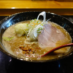 麺処 蓮海 - まぐろ豚骨味噌ラーメン(税込790円)
