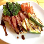 Grill&Wine RED3 - グリル野菜のベーコン巻き