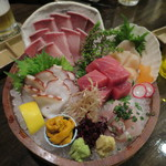 36314883 - 海鮮活魚の桶盛り