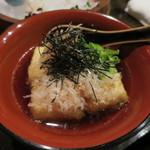 和創料理 海 - 揚げ出し豆腐