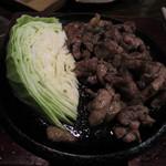 和創料理 海 - 宮崎地鶏のあぶり焼き