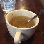 マーブル - 優しいスープ。