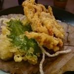 割烹かまた - 脱皮がにの天ぷら
