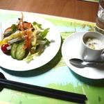 yas - サラダとスープ