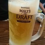 北浜立呑み食堂きたよし - 生ビール