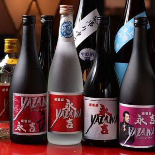 お約束の。。永吉ロゴ入り焼酎ですが世界に一つだけマイボトル。