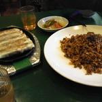 36319716 - ギョーザと甜麺醤チャーハン