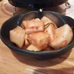 炙り焼肉なつき - 大根キムチ