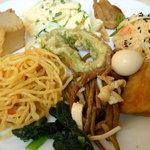 楠公レストハウス - 料理皿