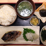 蔵ます - 焼魚定食(鰆)