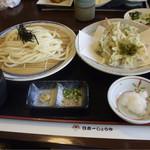 36320872 - 海老・春野菜天ぷらうどん