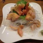 海鮮居酒屋山水 - 赤貝