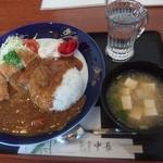 中長 - カレー定食756円