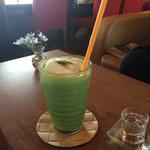 茂庵 - アイス抹茶ミルク