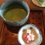茂庵 - 抹茶とお菓子