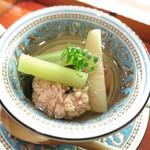 36323832 - 京都産新筍の若竹煮 蕗 鯛の子