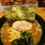 七福家 - ラーメン650円麺硬め。