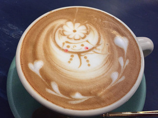 カフェ ウワイト - カフェラテ