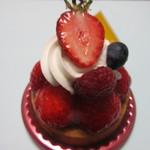 シトロン - 苺のタルト420円、今が旬のみずみずしい新鮮な苺をたっぷり使ったタルトです。