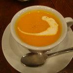 ピッツア ダ バッボ - 人参のスープ