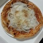 福良マルシェ - 花博パスポートでもらえるピザ♪500円の淡路島ぴざですよ。