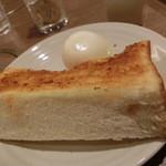36330127 - <モーニング>分厚いトースト♡
