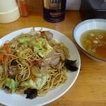 鹿内食堂 - ラーメンのスープがまた美味い~♪
