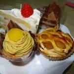 不二家 - ショートケーキ 2015年3月