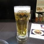 鳥せい - 生ビール