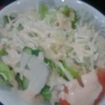 均元飯店 - 料理写真:定食のサラダ
