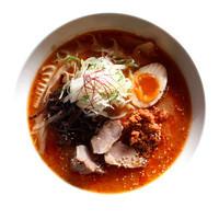 麺や ハレル家 - 赤辛肉味噌