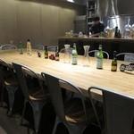シェフズキッチン ポルナレフ - 中央の大テーブル