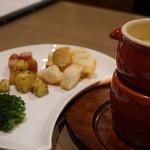 Bistro&Cafe 徒然 - チーズフォンデュS(800円)