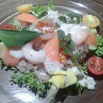 36332305 - 三月のオススメコース塩レモンちらし寿司