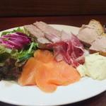 ラ カーサ ディ オルソ - 料理写真:前菜の盛り合わせ