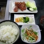 やきやき亭 - ハラミ定800円