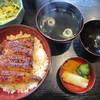 神田川さだ月 - 料理写真:うな丼ランチ サラダ・茶碗蒸しつき