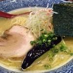 らーめん 詩 - 鶏白湯らーめん750円