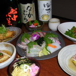 とんこや - 料理写真:春のおもてなしコースです(写真は3000円の料理です)