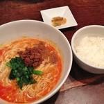 36341993 - 四川担々麺セット