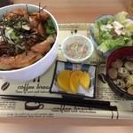 やきとり ガッツ - 料理写真:日替ランチA(特撰肉丼)700円