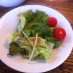 にしき - ランチのサラダ