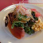 レストラン&パティスリー 木かげ茶屋 - ポアソンランチの前菜
