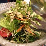 カフェ セレステ - セレステサラダS 600円 野菜が本当に美味しいです