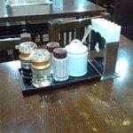 上海酒家 - テーブルセット